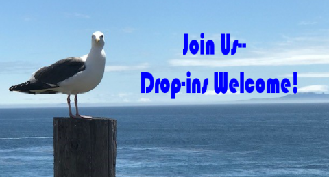 Join Us, Drop ins welcome!