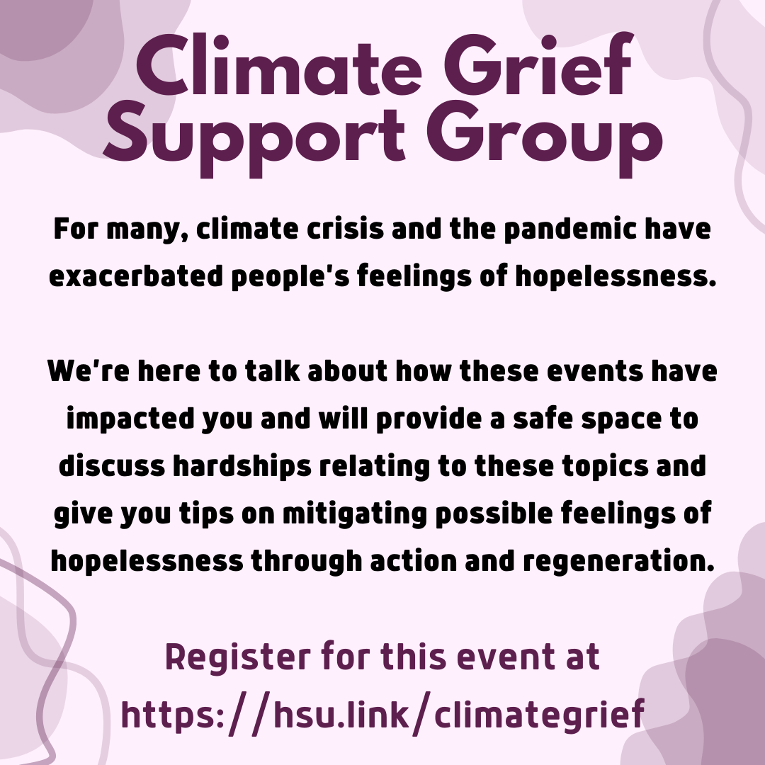Climate Grief Workshop Flyer